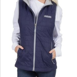 Lauren James Ellison Vest - Navy